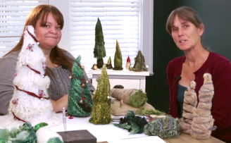 Gypsy Felting Christmas Tree